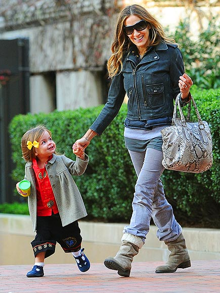 Sarah Jessica Parker and her daughter