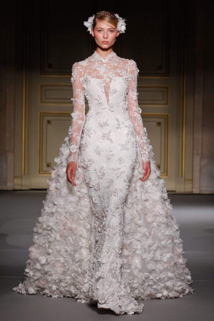 Spring-Summer 2013 Haute Couture Wedding Gown